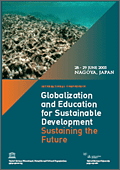 Sustaining the Future - Globalization and Education for Sustainable Development