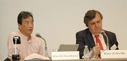 Kiyoshi Kurokawa and Hans d'Orville