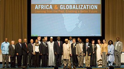 UNU/UNESCO 2009 conference group photo