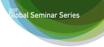 UNU Global Seminar Series