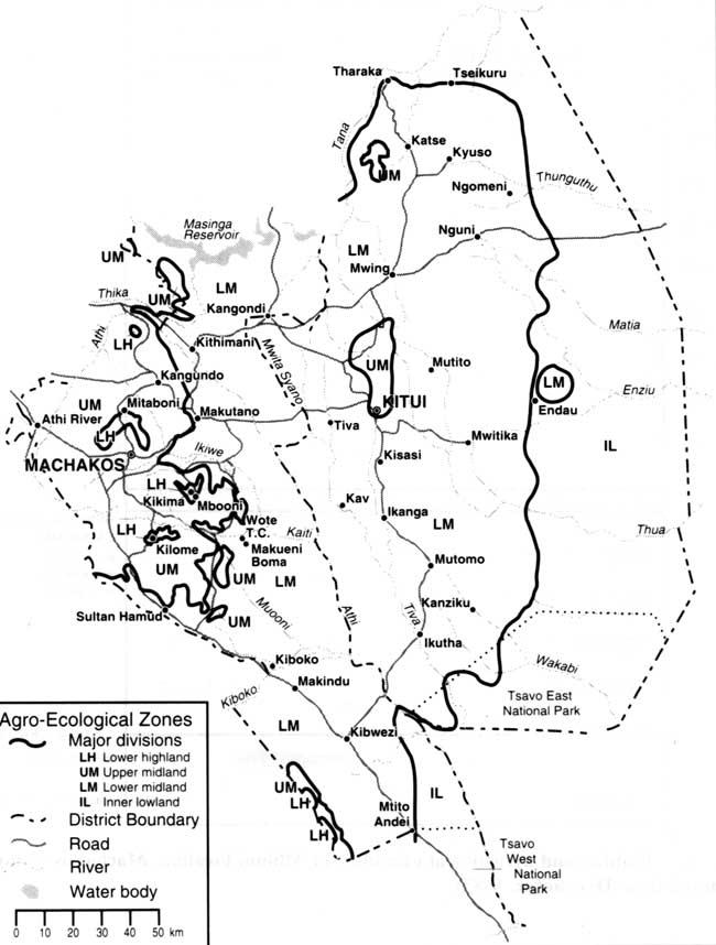 5 The Ukambani region of Kenya